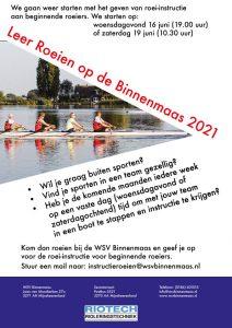 leer roeien WSV Binnenmaas 20121